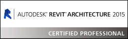 Autodesk® Revit® Architecture 2015 - Certified Professional
