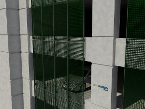 Eco-Screen by Kane - Rendering created with Revit Architecture 2011